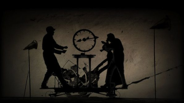 a) The refusal of time (detalle). William Kentridge