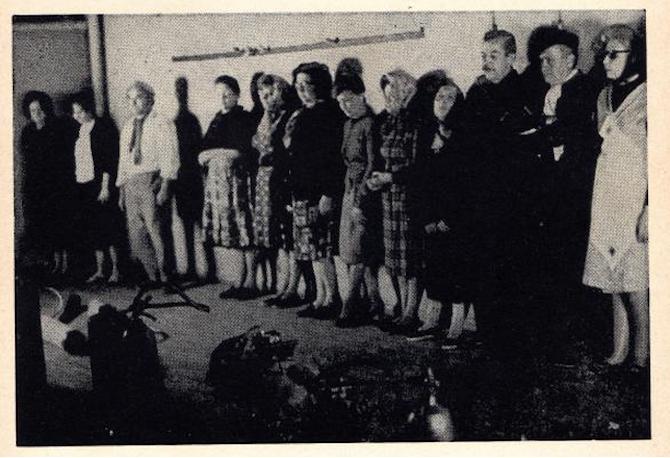 b) Oscar Masotta, Para inducir al espíritu de la imagen, 1966
