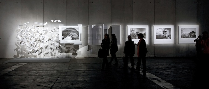 b) En algun lugar ninguna parte. Proyectos no ejecutados de Le Corbusier 2013.©Dionisio Gonzalez_courtesy_Ivorypress