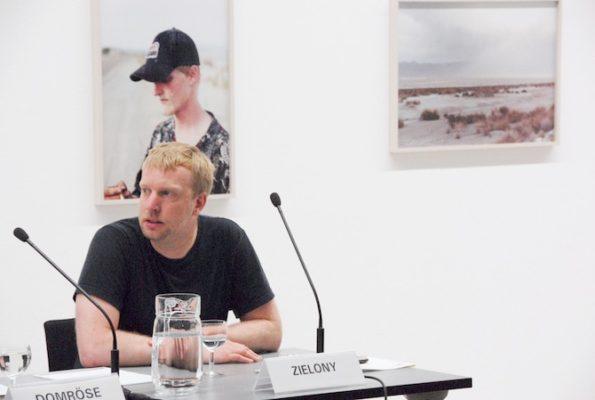 Zielony durante la presentación de Jenny Jenny en Berlín