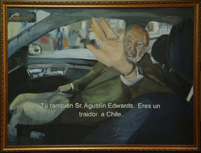 b) Agustin Edwards por Marco Arias