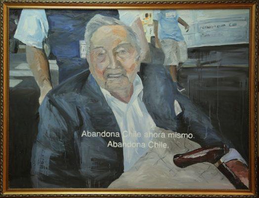 A) David Rockefeller por Marco Arias