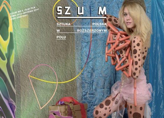 Portada de la revista Szum, n. 4, primavera 2014. Fragmento del trabajo del dúo Borowski/ Śliwiński