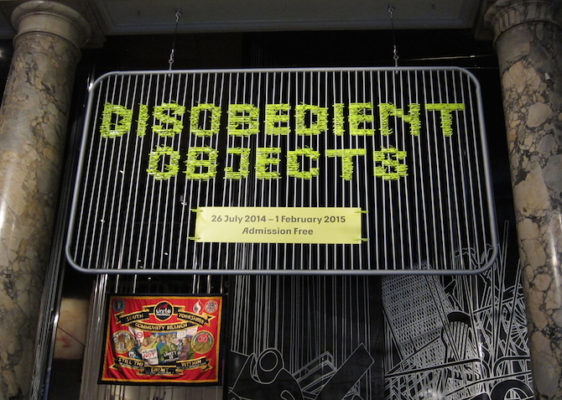 a) Disobedient Objects