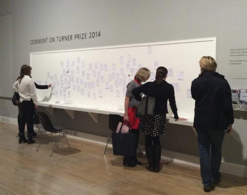 Turner Prize 2014. Foto: Saioa Olmo