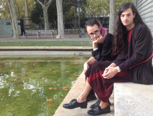 El Palomar son Rafa Marcos y Mario Páez. Imagen de Pilar Bonet. @a-desk