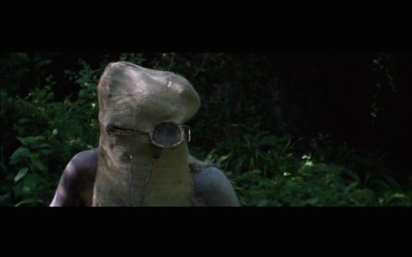 a) fotograma de la película